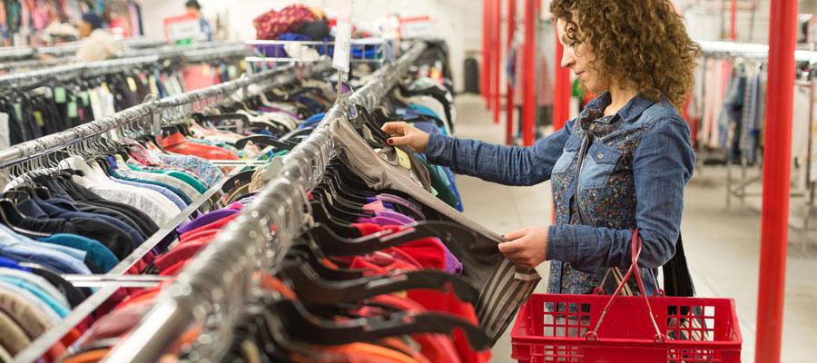 Achat de vêtements de marque à prix bas